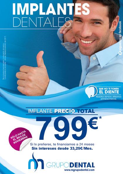 Oferta de implantes dentales